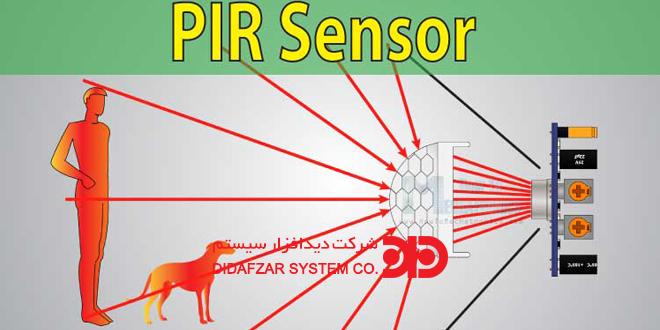 تکنولوژی تشخیص حرکتPIR در دوربین مدار بسته چیست ؟
