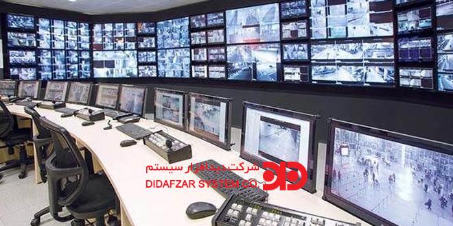 ویدیو وال ( Video Wall ) در دوربین مدار بسته