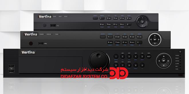 جدول راهنمای دستگاه های رکوردر HD-TVI ورتینا